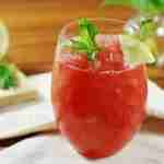 Watermelon Strawberry Muscato Slushie
