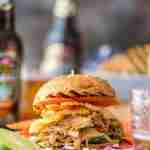 Boozy BBQ Pulled Pork Sandwiches
