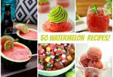 50 Watermelon Recipes