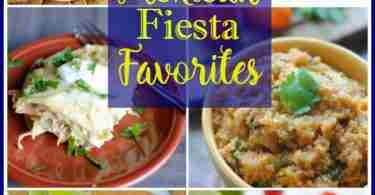 Mexican Fiesta Favorites from Foodie Friends Friday