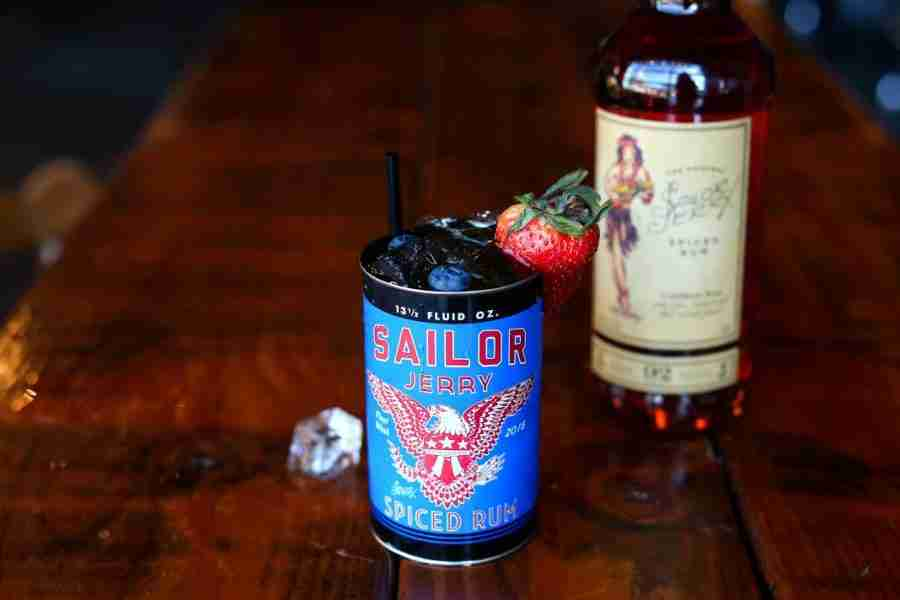 Sailor Jerry's High Honor Cocktail