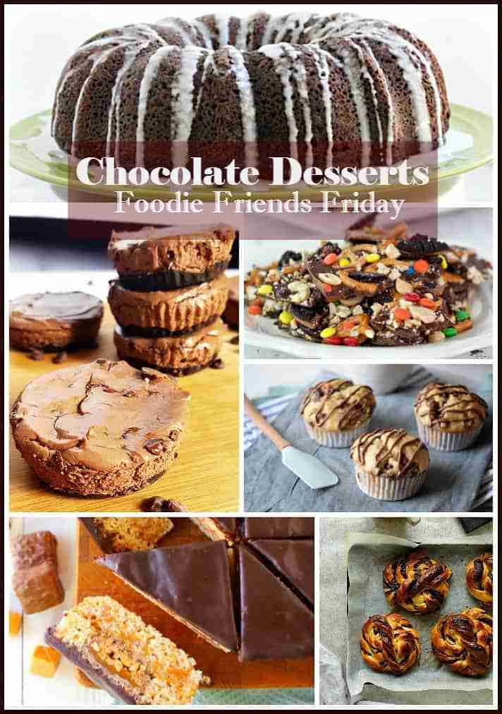 Chocolate Desserts from Foodie Friends Friday