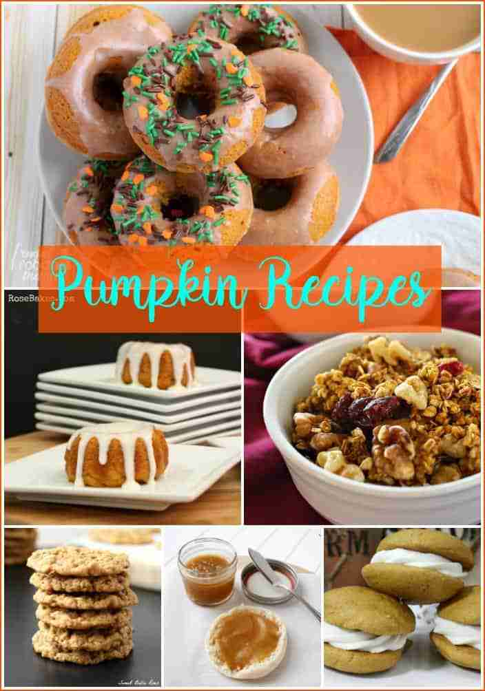 Pumpkin Recipes from Foodie Friends Friday