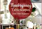 Thanksgiving Tablescapes featured on Daily Dish Magazine