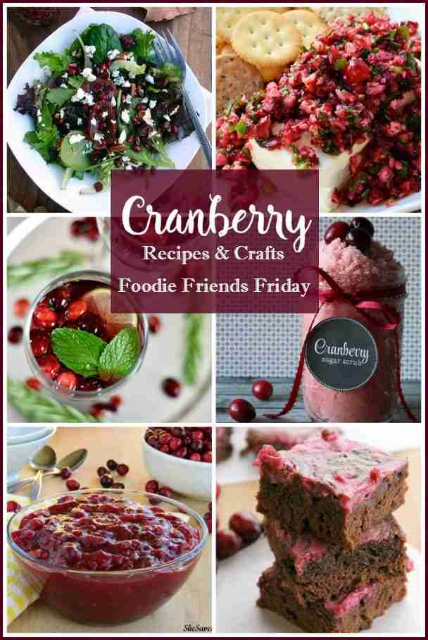 Cranberry Recipes and Crafts featured on Daily Dish Magazine