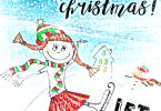 Let it Snow Christmas Countdown Printable Art