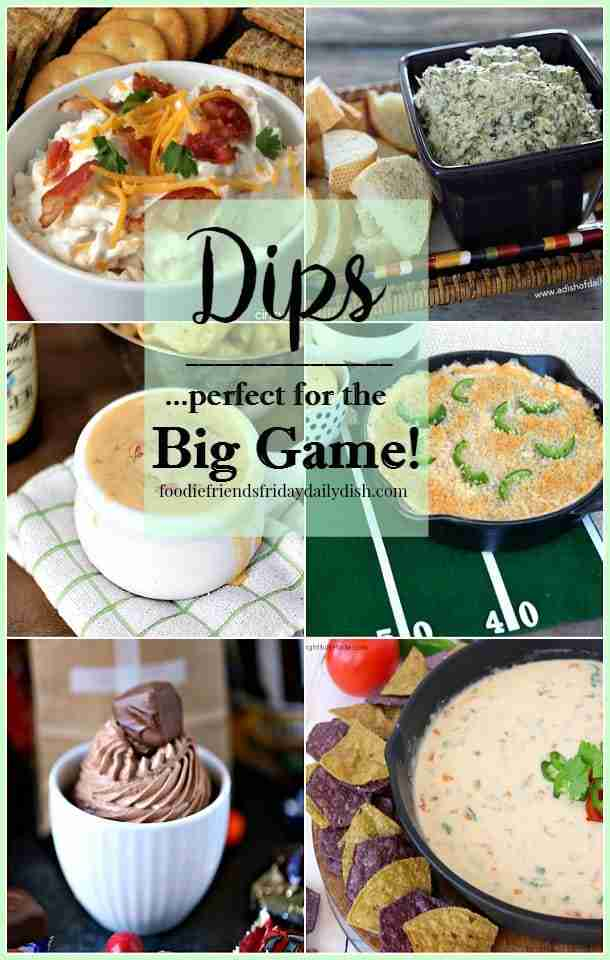 Dips perfect for the Big Game from Daily Dish Magazine