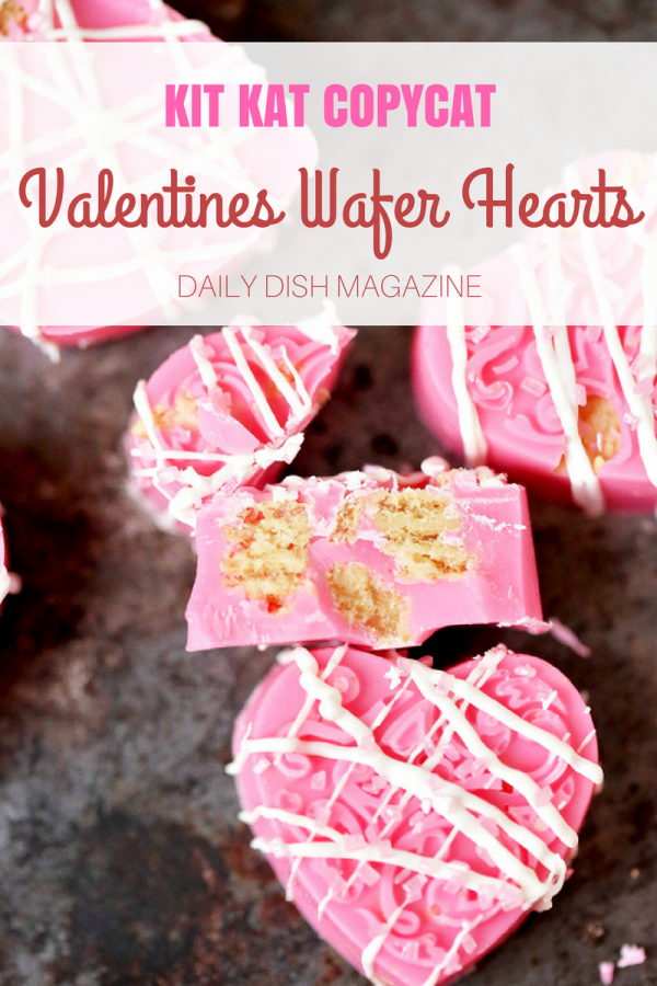 Kit Kat Copycat Valentines Wafer Heart Candies