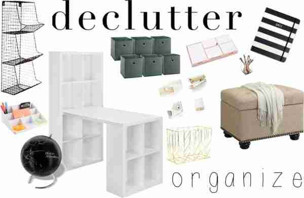 Declutter & Organize Your Office!