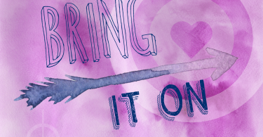 Bring It On Free Watercolor Printable Art