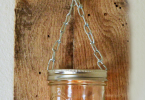 DIY Hanging Mason Jar Candle Holder | Daily Dish Magazine