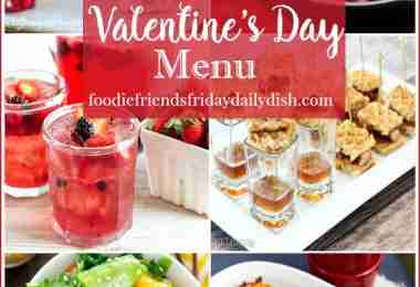 Perfect Valentine's Day Menu featured on Daily Dish Magazine