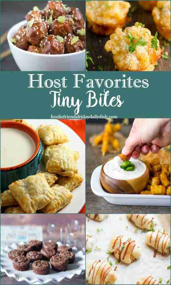 Tiny Bites Host Favorites from Daily Dish Magazine