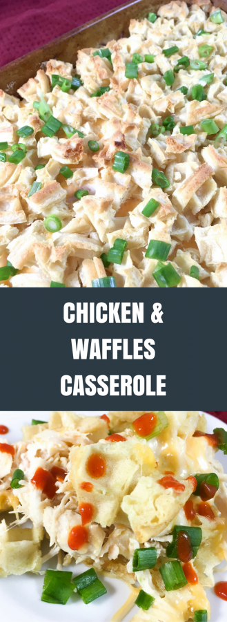 Chicken and Waffles Casserole | Daily Dish Magazine