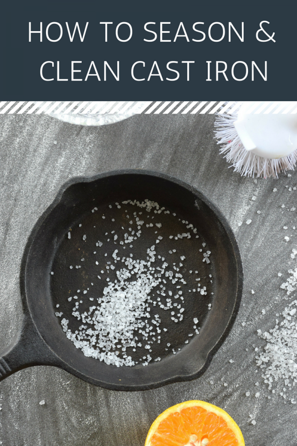 How to Season & Clean Cast Iron Cookware