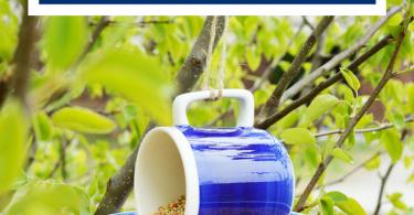 Easy Hanging Bird Feeder Tutorial | Daily Dish Magazine