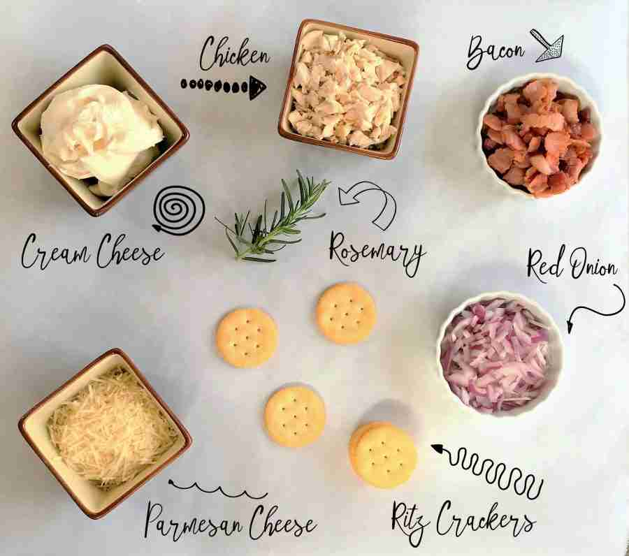 Fresh Snacks for Spring | Rosemary Chicken Spread