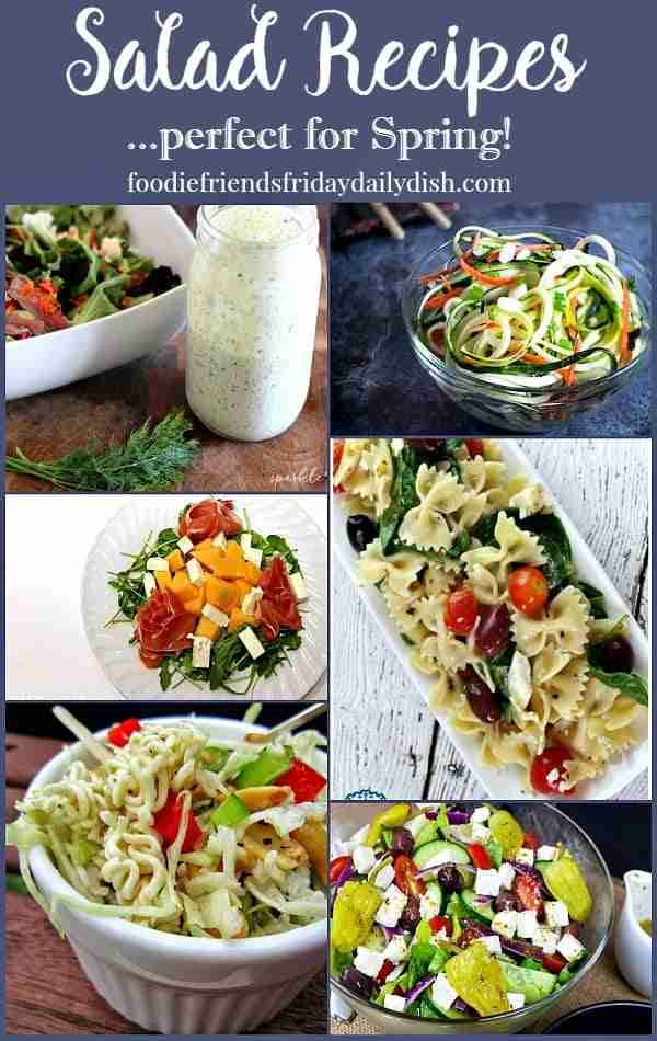 Salad Recipes featured on Daily Dish Magazine