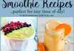 Smoothie Recipes from Daily Dish Magazine