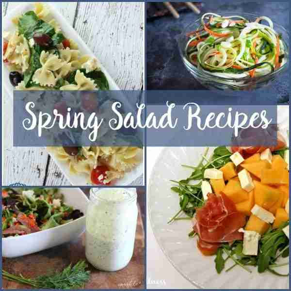 Spring Salad Recipes 600 X 600