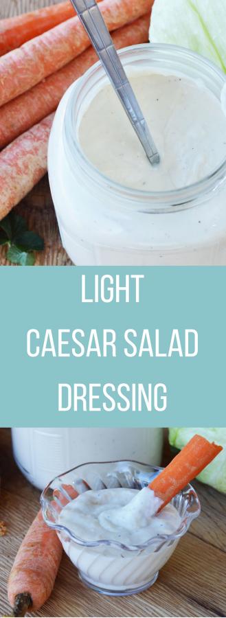 Light Caesar Salad Dressing Recipe