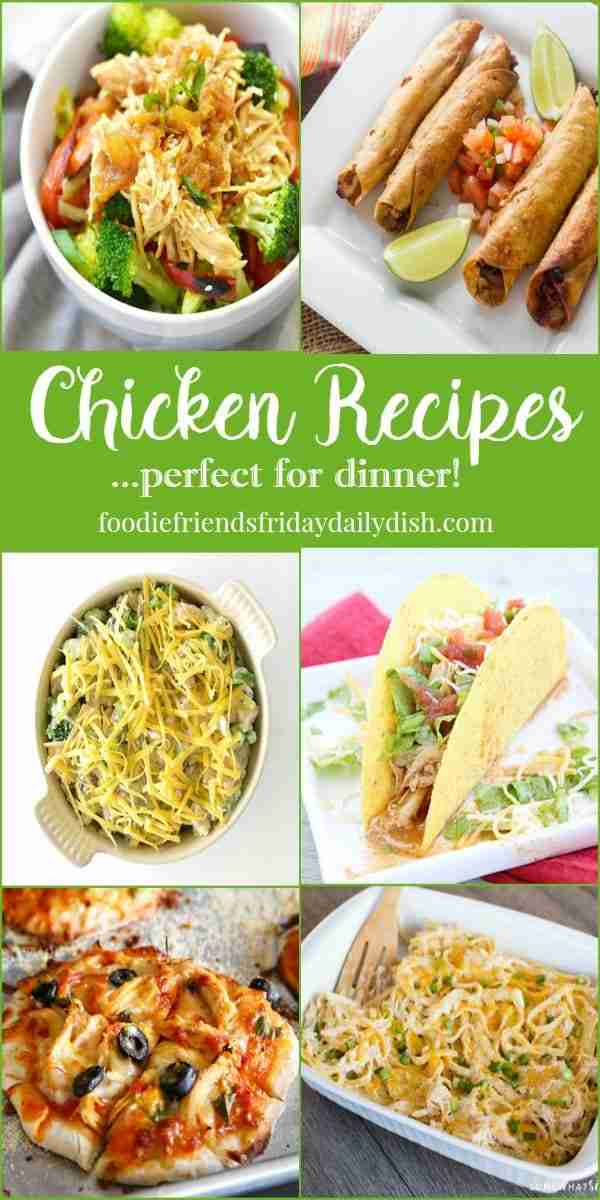 Chicken Recipes featured on Daily Dish Magazine