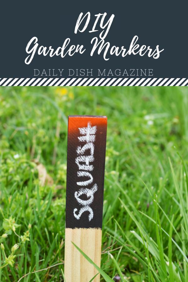 DIY Garden Markers | Farmhouse Style