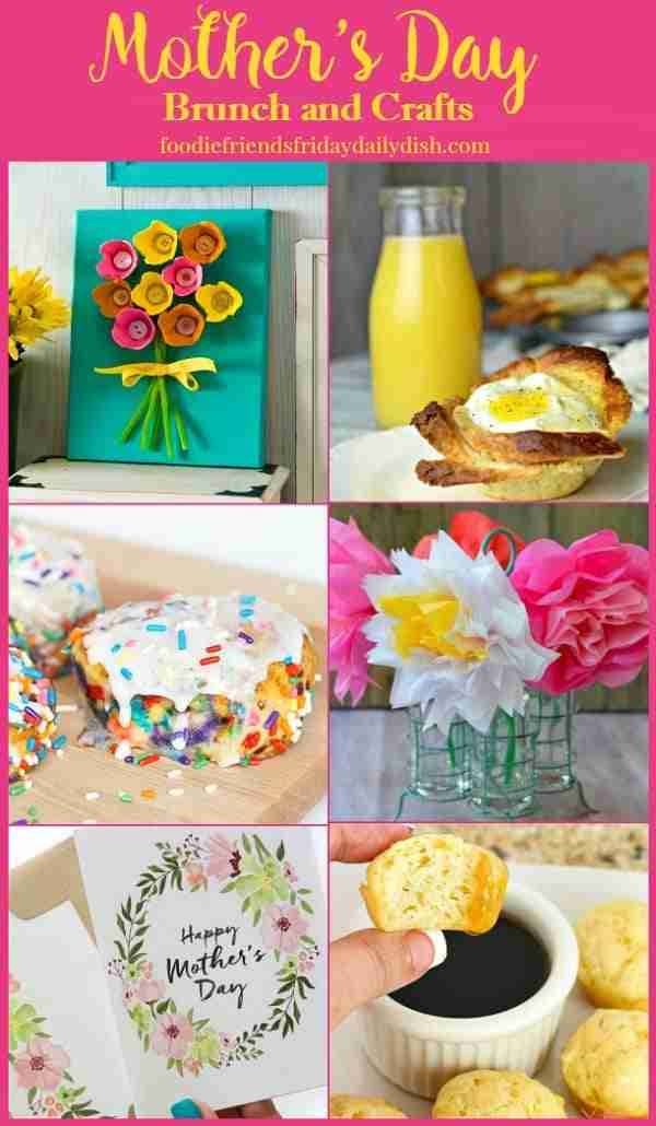 Mother's Day Brunch and Crafts featured on Daily Dish Magazine