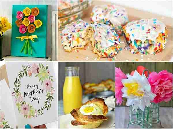 Mother's Day Brunch and Craft Ideas