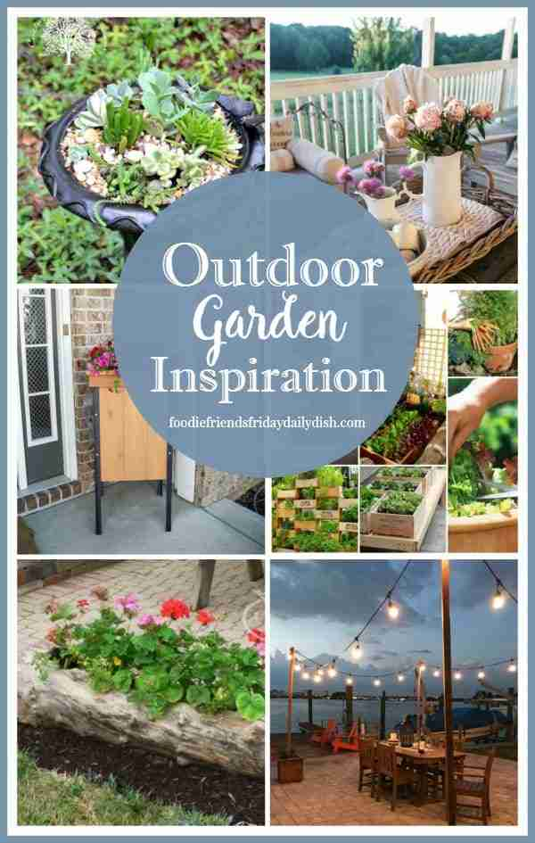Outdoor Garden Inspiration from Daily Dish Magazine