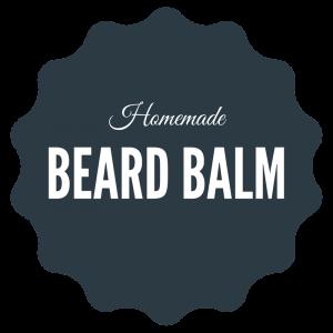 Homemade Beard Balm Printable Label