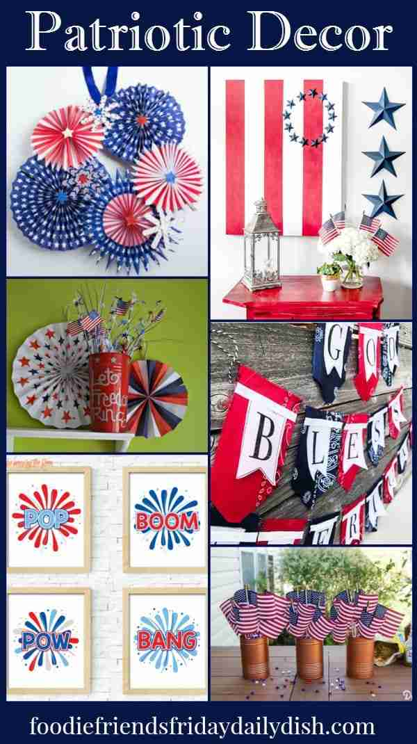 Patriotic Decor featured on Daily Dish Magazine