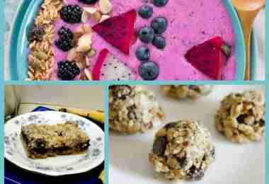 6 Easy and Healthy School Snacks featured on Daily Dish Magazine