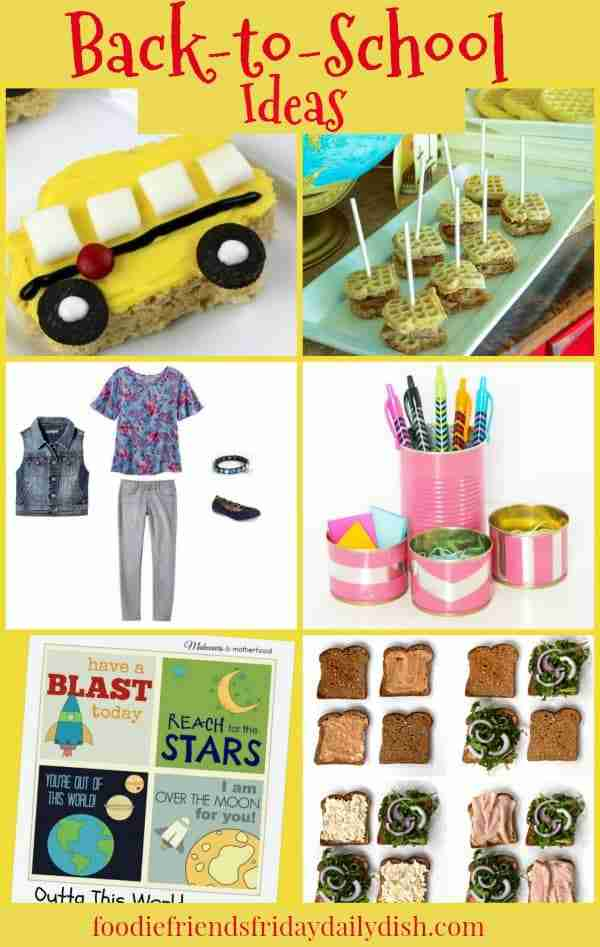 Back to School Ideas featured on Daily Dish Magazine
