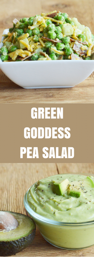 Green Goddess Pea Salad Recipe