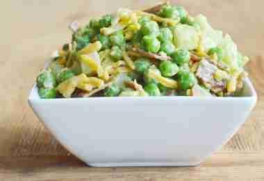 Green Goddess Pea Salad Recipe
