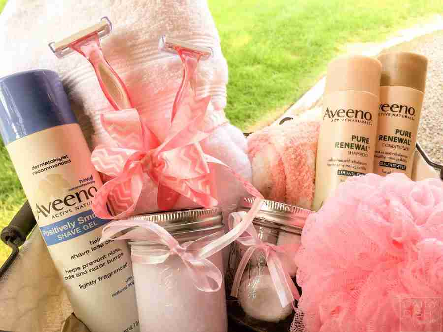 Spa Gift Basket for the New Mom