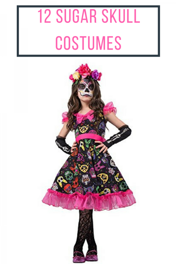 12 Sugar Skull Costumes for Halloween & Dia de los Muertos