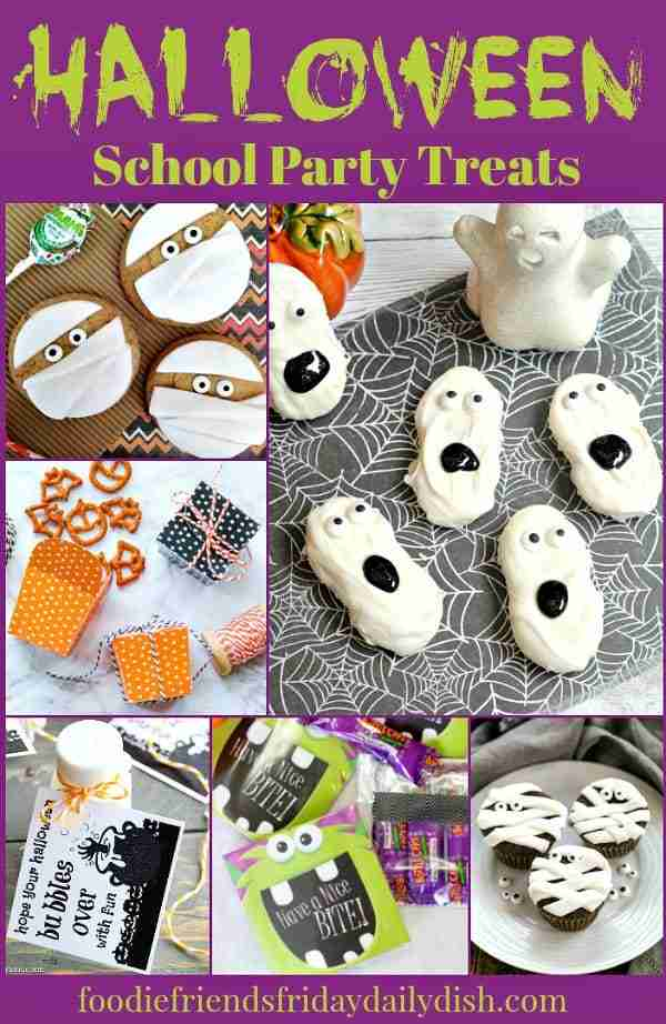 Halloween School Party Treats