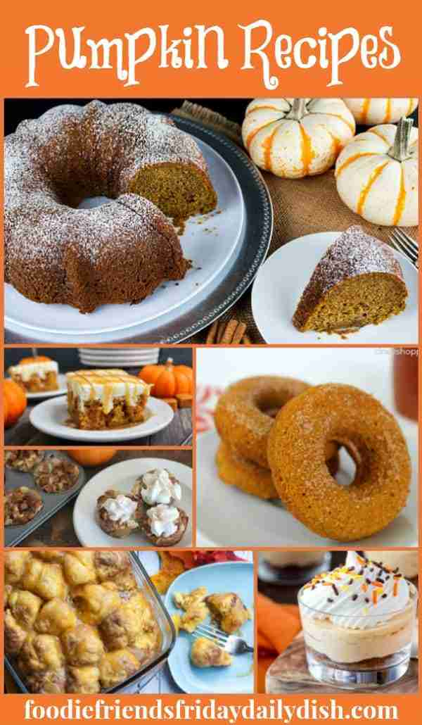 Pumpkin Desserts featured on Daily Dish Magazine