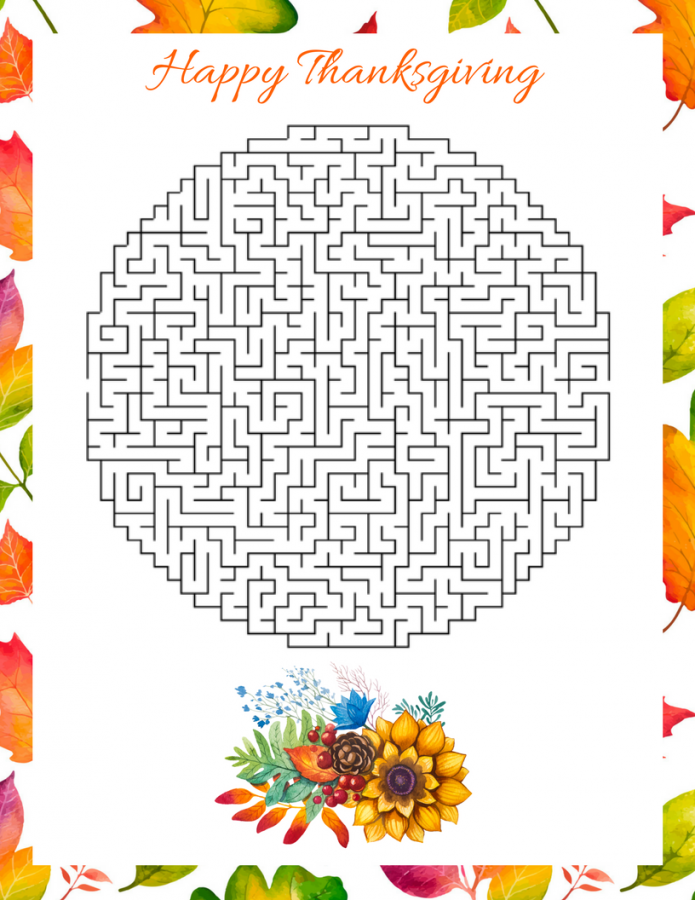 Free Fall Thanksgiving Puzzle Printables