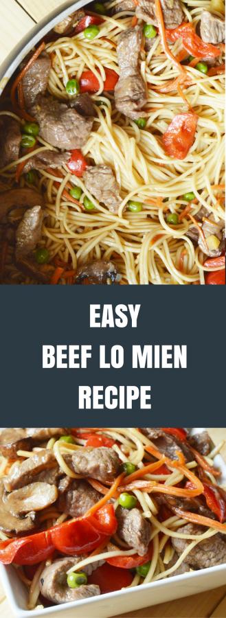 Easy Beef Lo Mien Recipe