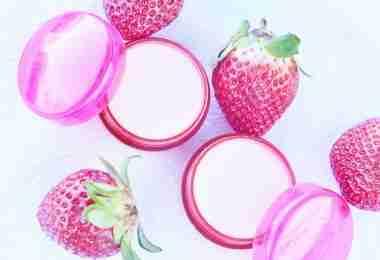 Homemade Strawberry Lip Balm Recipe