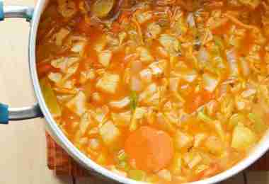 Healthy Cabbage Soup Recipe | Easy Diet Food