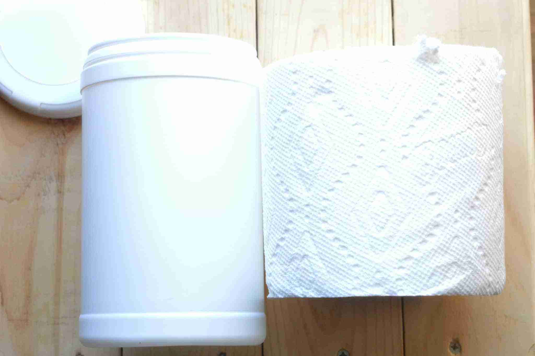 DIY Dog Wipes