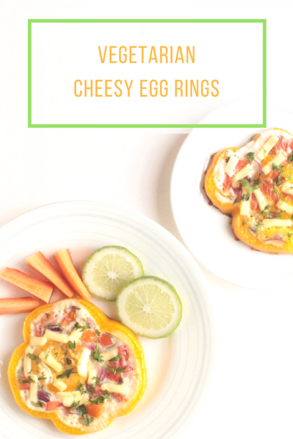 Cheesy Vegetarian Egg Rings