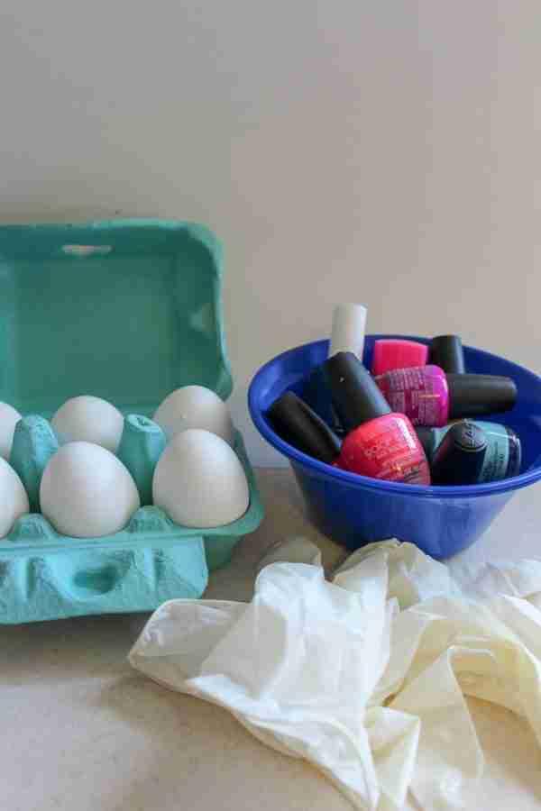 Marbled Easter Eggs Supplies