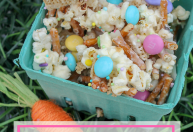 Easy Bunny Bait Recipe with Free Printable Bag Topper