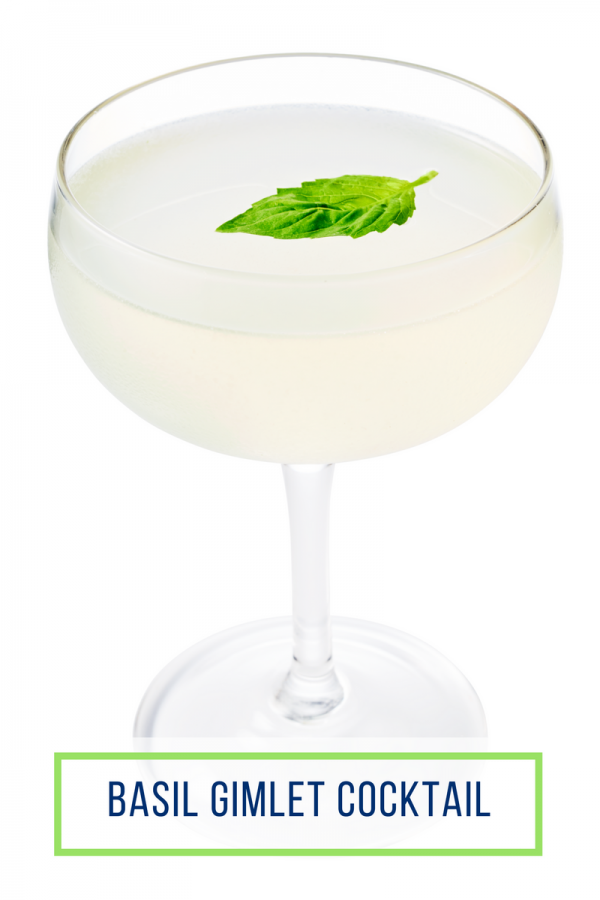 Basil Gimlet | Kentucky Derby Cocktails