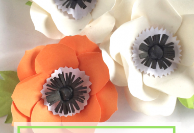 Paper Anemone Flower Craft